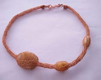 Анаконда ожерелье Anaconda necklace