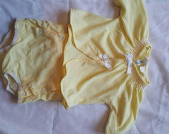 Yellow 2 pc outfit