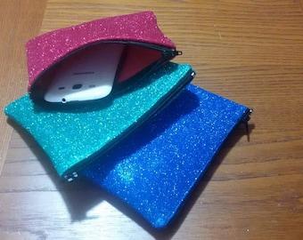 Glitter clutch bag from bag