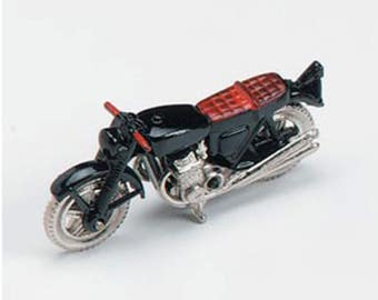 Dollhouse Miniature Motorcycle 1:12 Scale