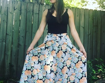 Pretty Spring Spin and Twirl Skirt