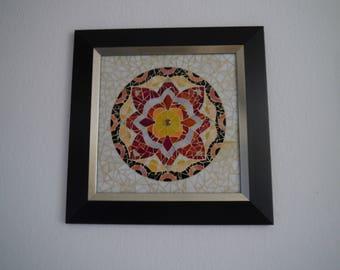 Mosaic mandala image