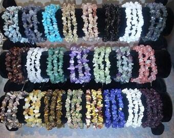 100% Natural Healing Gemstones Bracelets