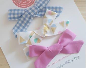 Summer Set- Small Schoolgirl Bow