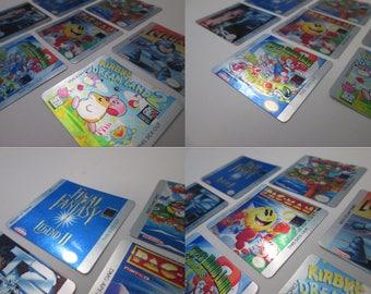 Game Boy / Game Boy Color Cartridge Metal Foil Decal Labels!