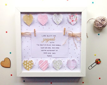 Girls Bedroom Art - Nursery Art - Prayer Art - Girls Room Print - Little Girls Bedroom - Little Girls Art -Girls Print - Girls Bedroom Art