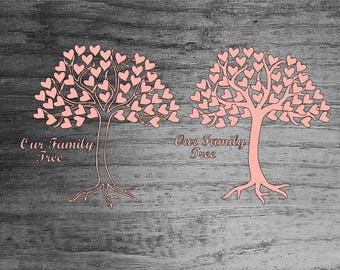Our Family Tree SVG, Tree SVG, Heart Svg