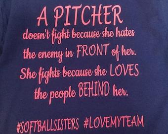 A Pitcher fights shirt