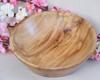 fruit Bowl/ decorative bowl handmade from recycled upcycled wood, decorative bowl,centre piece, center