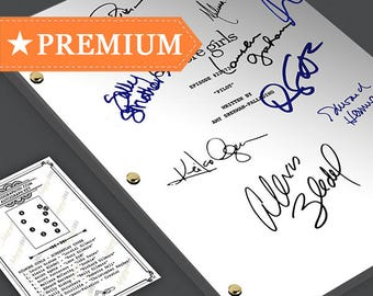 Gilmore Girls Pilot Episode TV Script Screenplay - Signed Autograph Reprint - Lauren Graham, Alexis Bledel, Keiko Agena, Scott Paterson