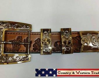 Western buckles set for belt