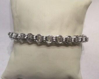 3-3 bracelet chain mail HANDMADE WITH LOVE