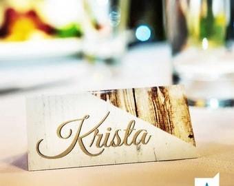 Custom Wedding Place Cards - Wedding Table Cards - Wedding Stationery Place Card Set of 100