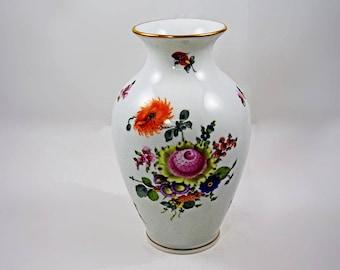 Herend Hand Painted Porcelain Vase