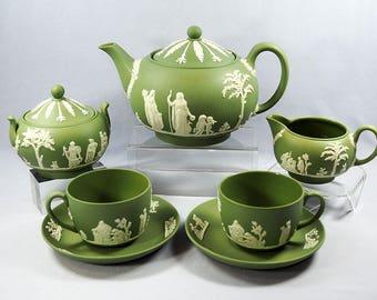 Wedgwood Jasperware Tea for Two Set
