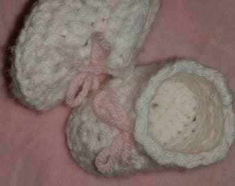 Booties and crib shoes