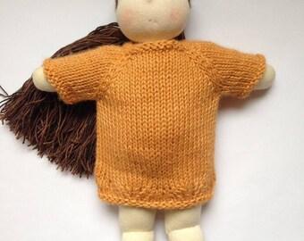 Waldorf inspired doll - Emi