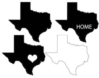 Texas Map Svg Clipart Texas States Vector Map Texas Dfx Svg Eps