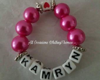 Pearl sweetheart bracelet