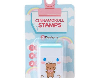 Cinnamoroll Concatenation stamp 3 design SANRIO from Japan kawaii Craft label tag
