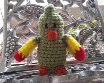 Amigurumi Parrot