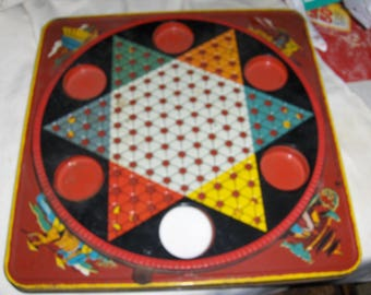 Metal Chinese Checkers Game Case