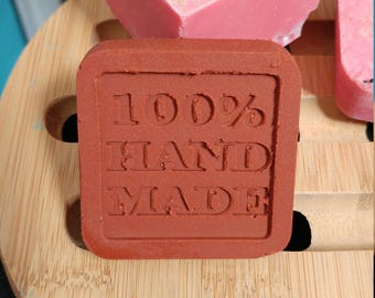 Handmade soap * Cherry * (goat's milk and +++ red clay)