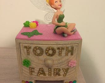 Tinkerbell tooth fairy box