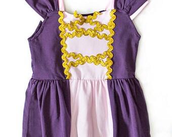 Tower Princess - Rapunzel Inspired Shirt/Playground Princess