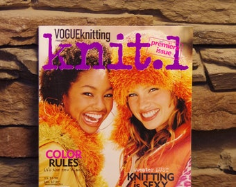 "Knitting Magazine ""knit.1"" - Premiere Issue"