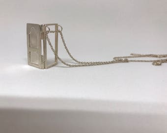 Memory serie - Door, Sterling Silver Necklace
