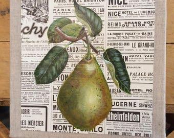 "Canvas ""Pear"""