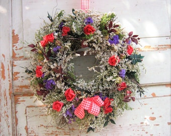 Door wreath wreaths wreath natural country style