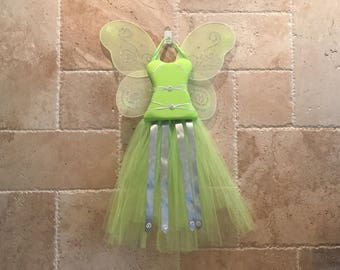 Fairy Green Dress- 30 in Tutu Bow Holder