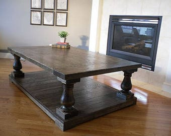Balustrade Coffee Table