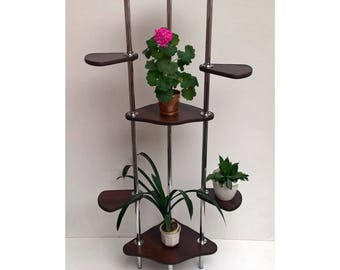 "Free ship! Plant stand ""Toronto 2"". Flower stand - Indoor plant stands - Plant holder Plant table - Stand for flowers - Flower shelf - Shelf"