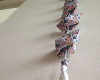 "Guirlande bateaux origamis ""Liberty"" - boats garland"