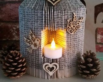 Beautiful paper birdcage lantern
