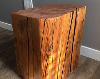 Reclaimed Wood Stump