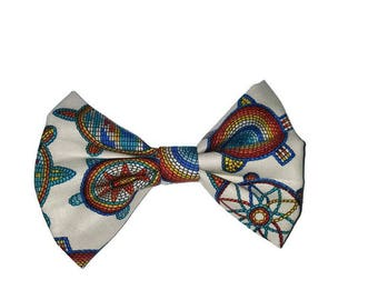 Turtle Beaded Bow