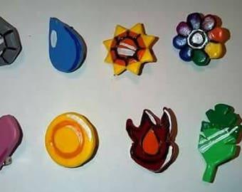 Pokemon Gym Badges