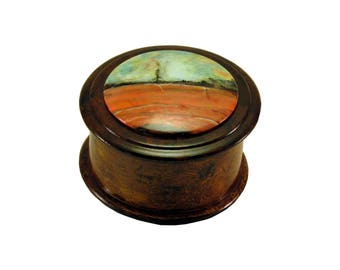 Сasket, jewelry box, drawer, drawers A Round Box