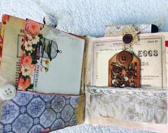 Travelers notebook/mini junk journal