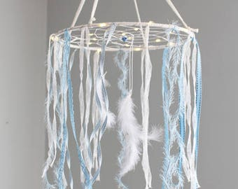 Dream catcher bright mobile Dreamcatcher - Sleepy baby blue