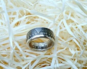 "Ring from the coin ""Morgan Dollar"" (Morgan Dollar)"