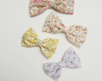 Basic bows in floral theme