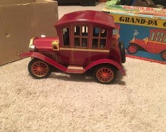 1950's Rosko tin car with original box