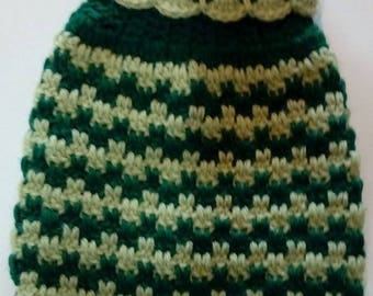 dog jumper small crocheted cotton