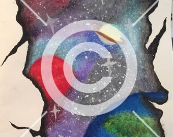 Rip In Space - A4 Print