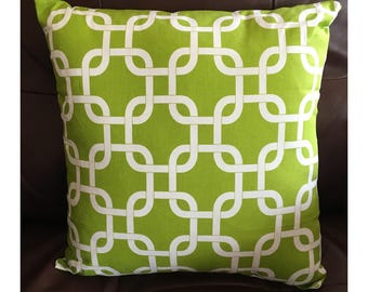 Lime Colored Pillow